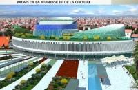 Voici à quoi ressemblerait le nouveau palais de la jeunesse et des sports en Guinée.