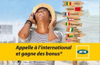 Appelez  à l'international et gagnez des bonus